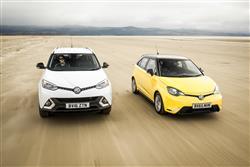 MG Motor UK Sales Growth