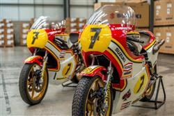 Suzuki at the Classic Motorcycle Mechanics Show in Staffordshire