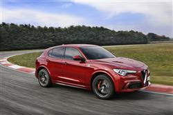 The new Alfa Romeo Stelvio Quadrifoglio SUV