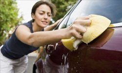 car care - washing your car