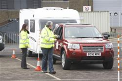 caravan club towing course