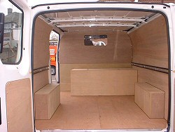 ply lining for vans