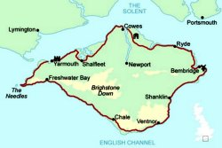travel  - the isle of wight - an isle within an isle