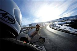 winter motorcycling