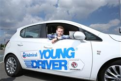 young driver - kids learning to drive