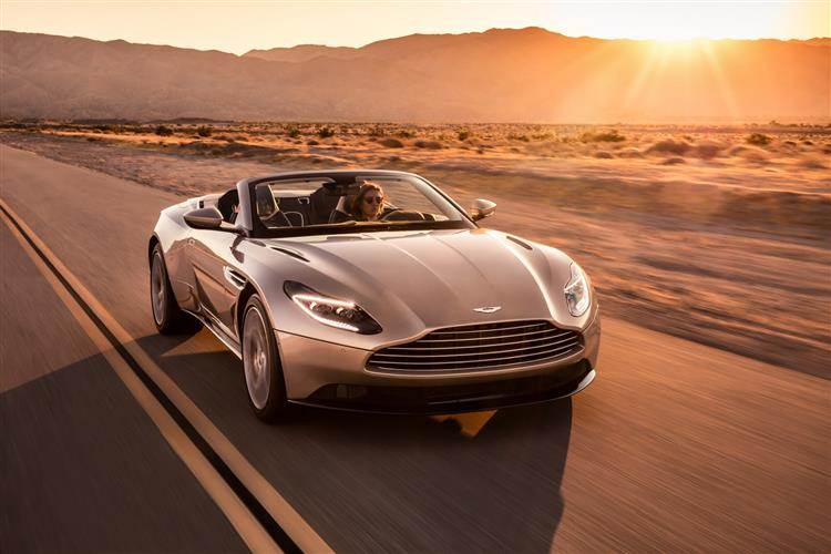 Aston Martin DB11 Volante - The return of the ultimate sports convertible GT image 2