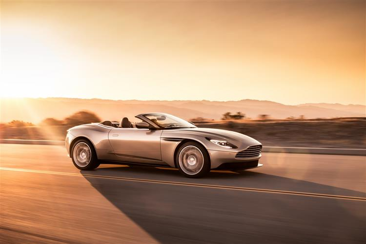 Aston Martin DB11 Volante - The return of the ultimate sports convertible GT image 3