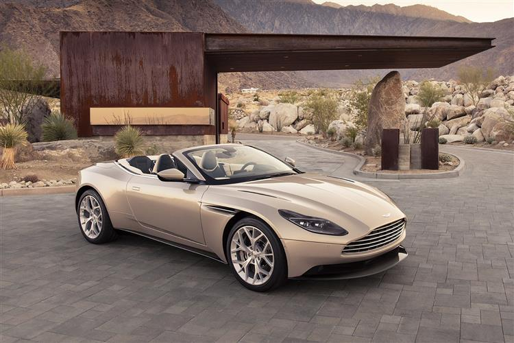 Aston Martin DB11 Volante - The return of the ultimate sports convertible GT image 5