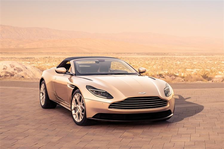 Aston Martin DB11 Volante - The return of the ultimate sports convertible GT image 6