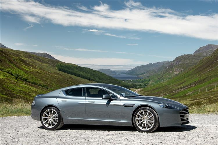 Aston Martin RAPIDE S V12 Touchtronic 5.9 Automatic 4 door Saloon (13MY) at Aston Martin Brentwood thumbnail image