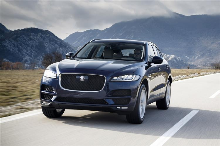 Jaguar F-PACE 2.0d (180) Chequered Flag AWD SPECIAL EDITIONS image 3