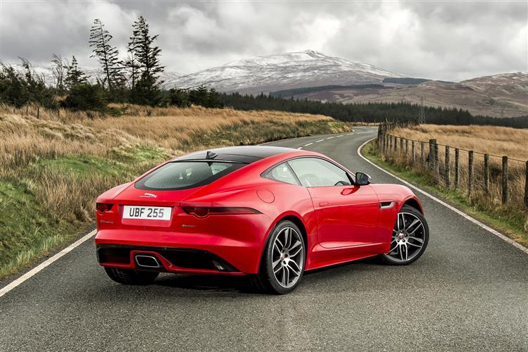 Jaguar F-TYPE 3.0 Supercharged V6 2 door Coupe (17MY)
