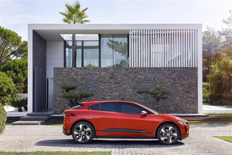 Jaguar I-PACE 90kWh EV400 HSE Electric Automatic 5 door Estate (18MY) available from Jaguar Swindon thumbnail image