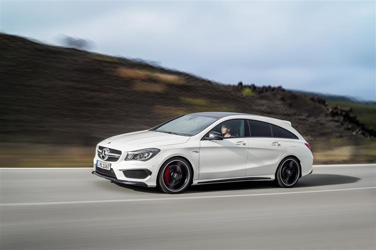 CLA Class Shooting Brake Special Edition