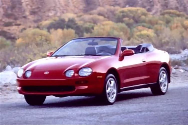 New Toyota Celica Cabriolet (1994 - 1999) review